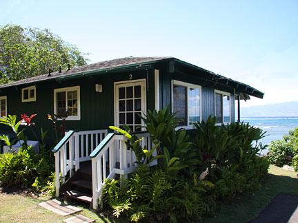 Vacation Rental Pauwalu Beachfront Cottage Molokai Hawaii